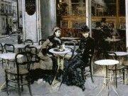 Giovanni Boldini conversazione al caffè