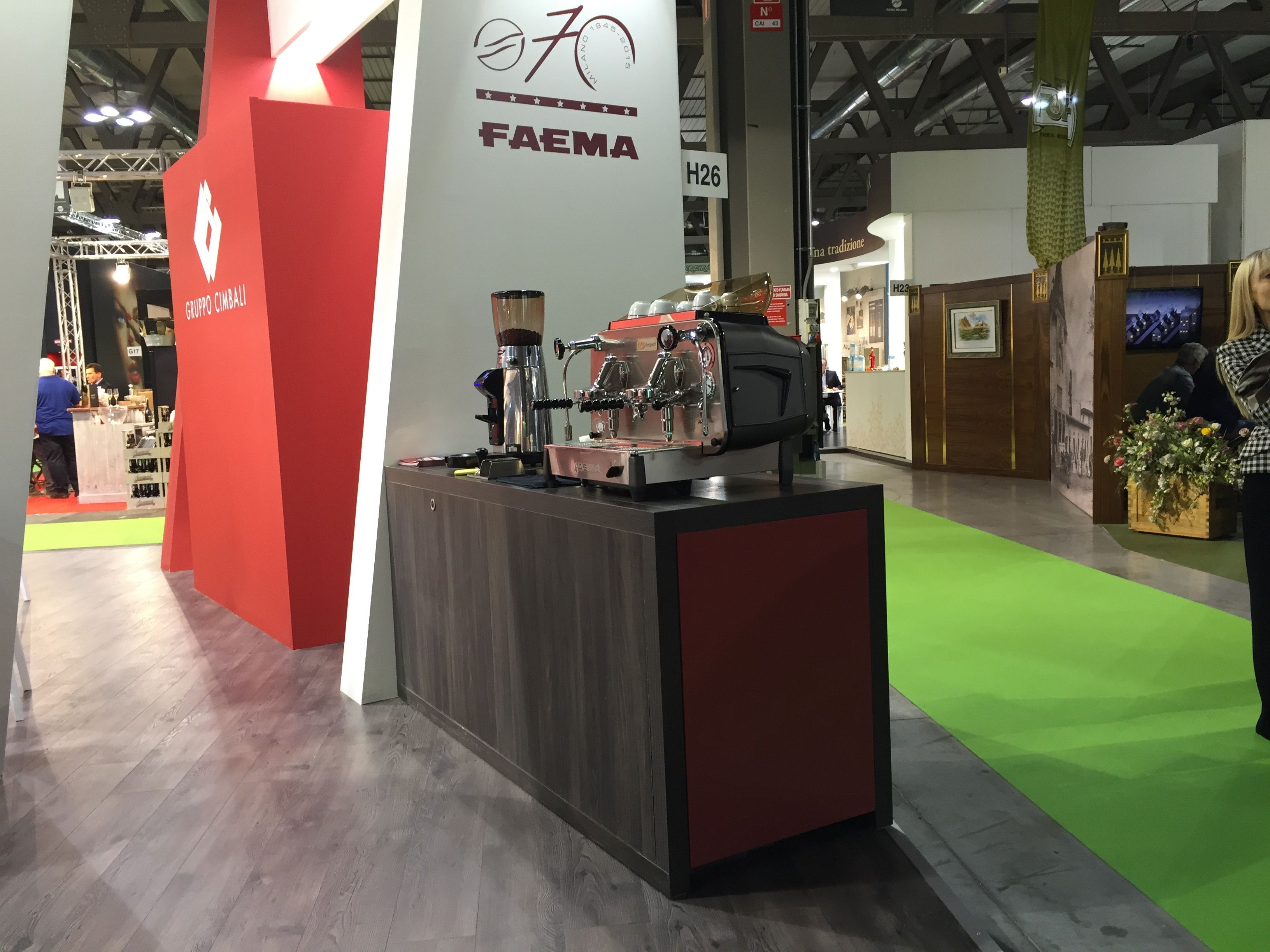 stand Cimbali tuttofood 2015
