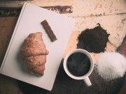 zucchero caffè cacao cioccolato croissant tazza
