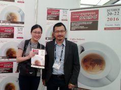 i rappresentanti di Coffee t&i Tailandia per Triesteespresso Expo
